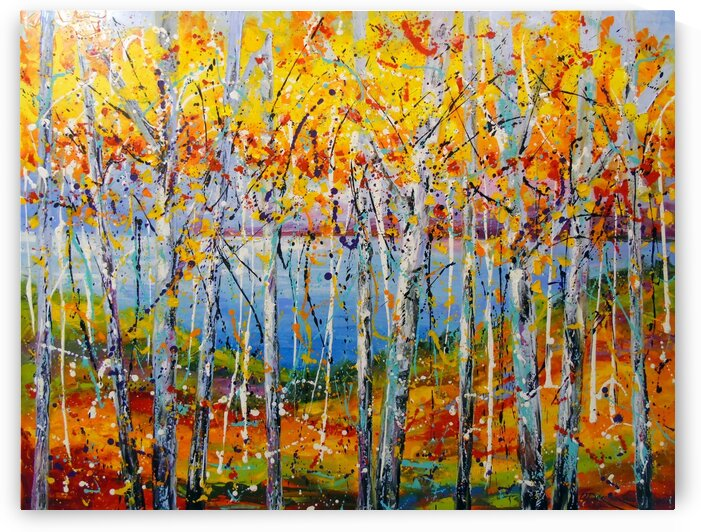 Autumn jazz by Olha Darchuk