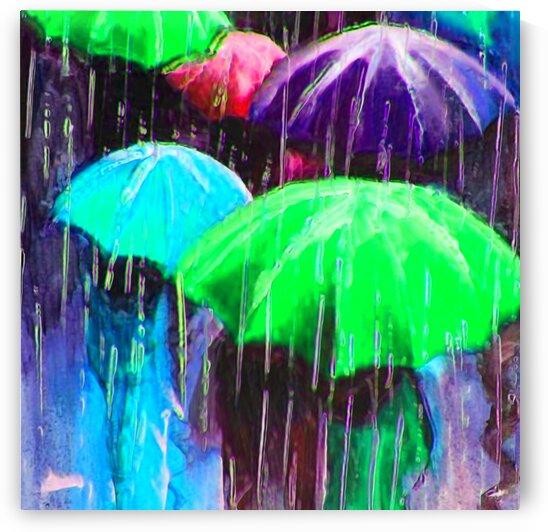 Raining in Paris  by LeGustavienne