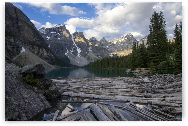 6404 - Moraine Lake by Ken Anderson Photography