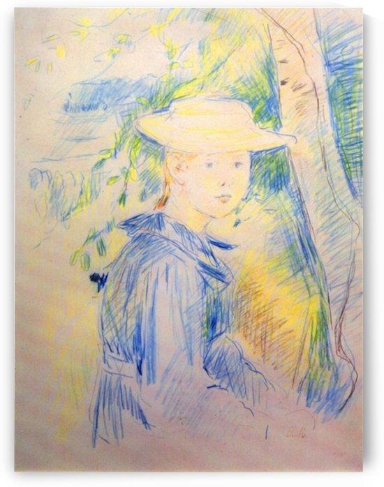 Portrait of Paule Gobillard by Morisot by Morisot