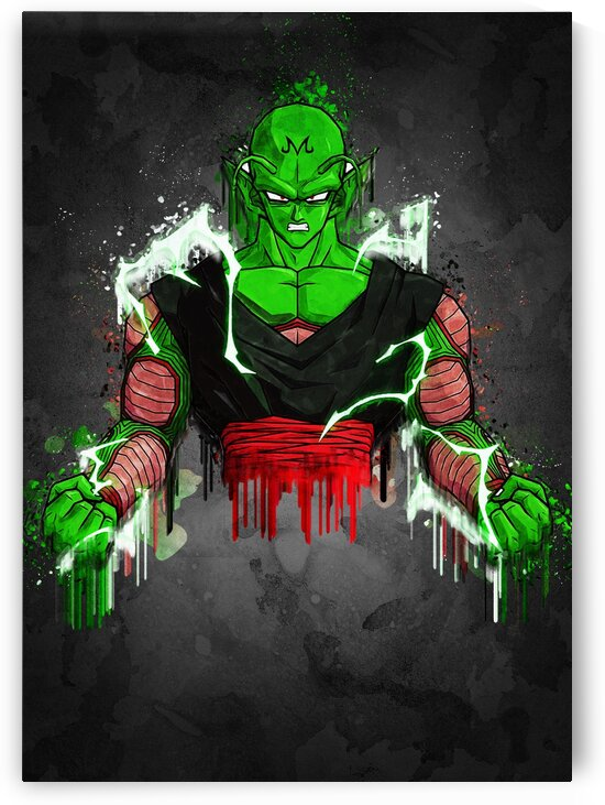piccolo Abstract Painting by Gunawan Rb