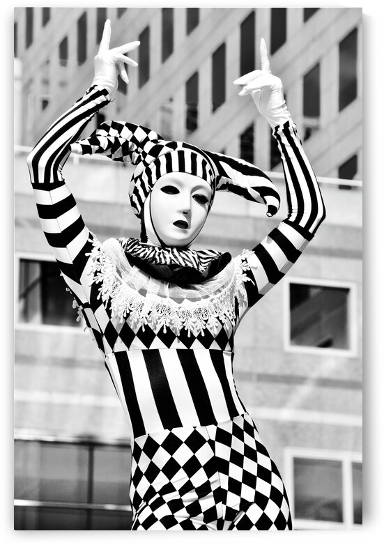 Harlequin 8 ... NYC by Fred J Bivetto