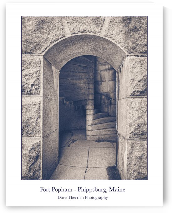 Fort Popham 2 - Phippsburg Maine by Dave Therrien