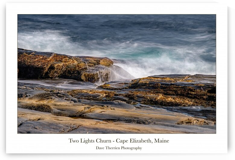 Two Lights Churn 2 by Dave Therrien