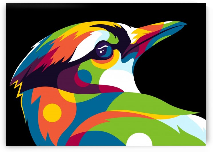 Blue Bird Inside by wpaprint