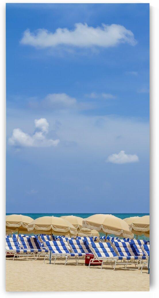Idyllic beach scene | panorama  by Melanie Viola