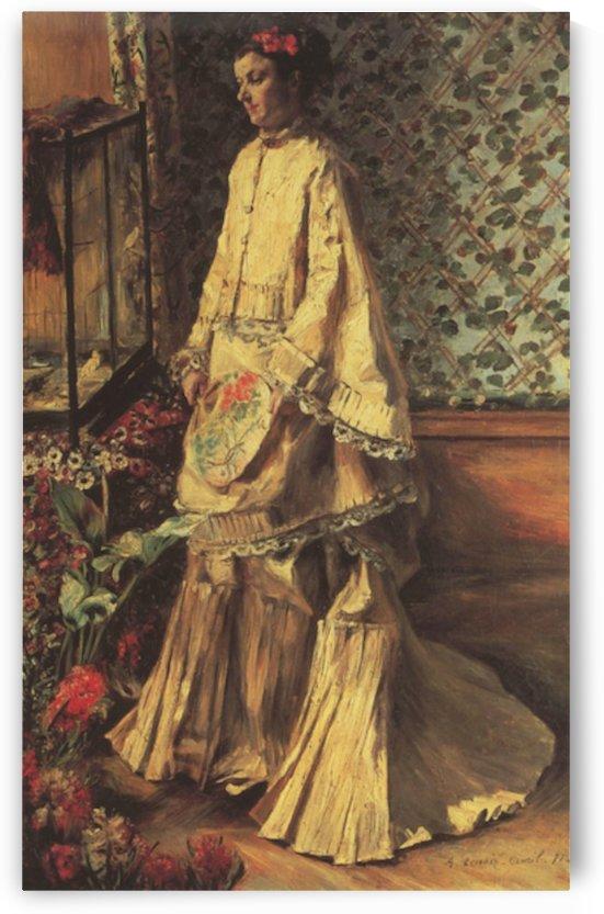 Portrait of Rapha by Renoir by Renoir