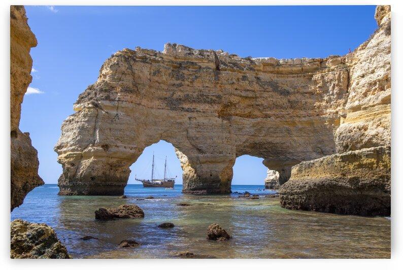 9636 - Praia da Marinha - Portugal by Ken Anderson Photography