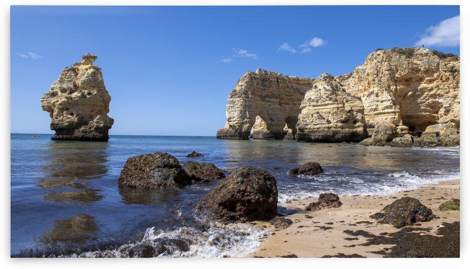 9624 Praia da Marinha - Portugal by Ken Anderson Photography