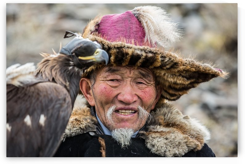 Eagle Hunting Mongolia by BatzayaPhotography