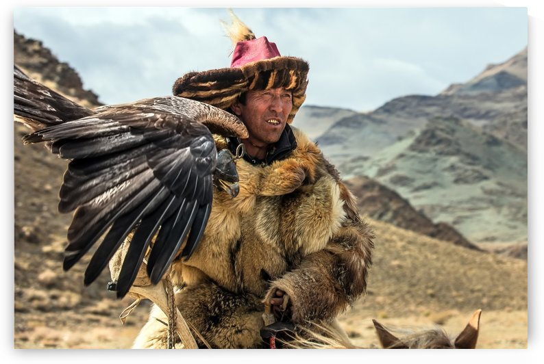 Eagle Hunter Mongolia by BatzayaPhotography