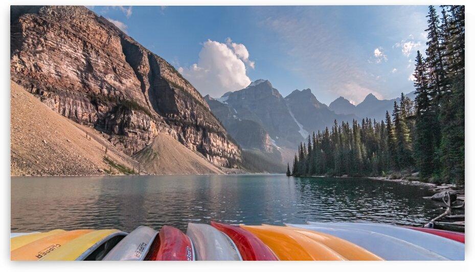 Moraine Lake Canada by Nicholas