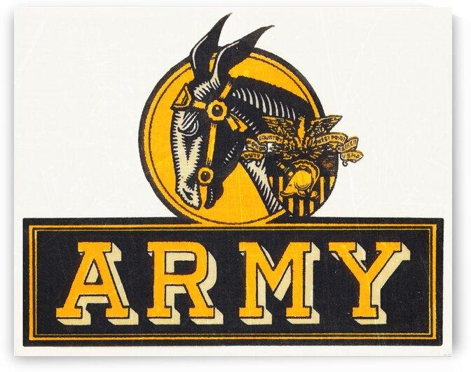 1960 Army Art by Row One Brand