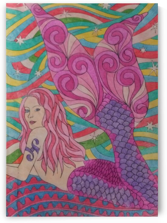 Mermaids by  SelfColored Coloring sheets