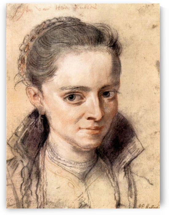 Portrait of Susanna Fourment by Rubens by Rubens