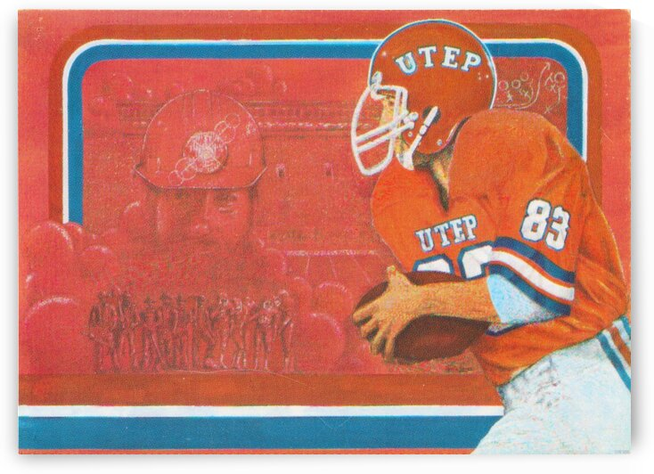 1983 UTEP Football by Row One Brand