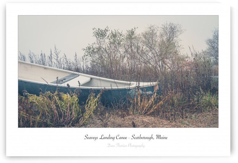 Seaveys Landing Canoe by Dave Therrien