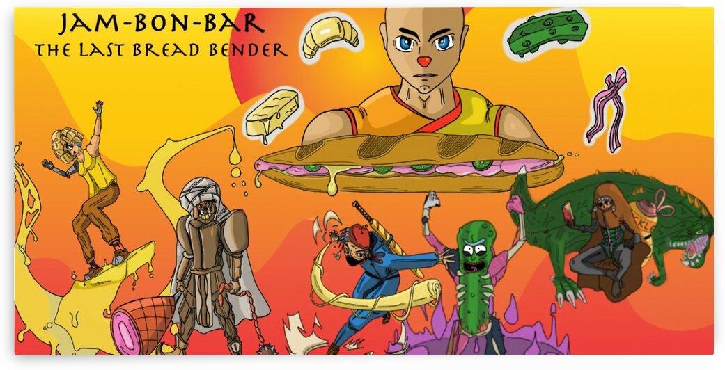 JamBonBar ThelastBreadBender by Bald Guy Drawing