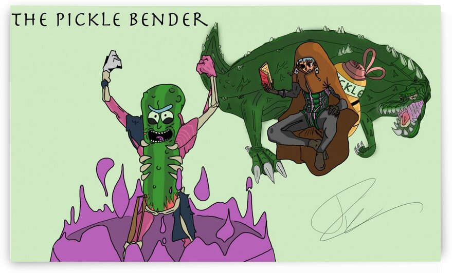PickleBender by Bald Guy Drawing