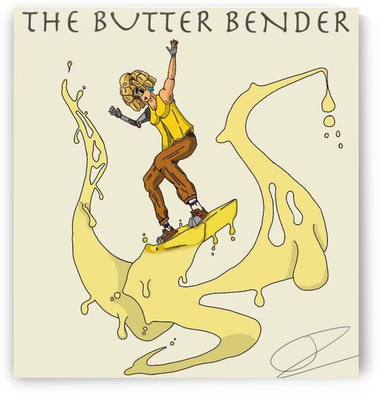 ButterBender by Bald Guy Drawing