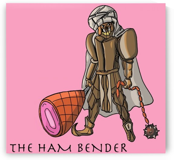 HamBender by Bald Guy Drawing
