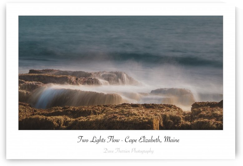 Two Lights Flow by Dave Therrien
