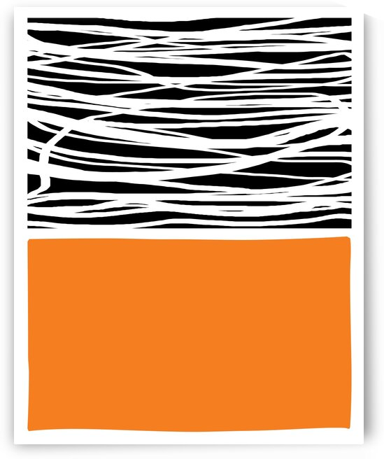 Mid Century Modern Abstract DAF20033 by Edit Voros