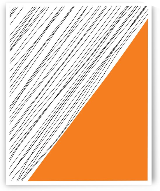 Mid Century Modern Abstract DAF20034 by Edit Voros