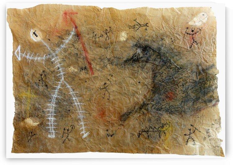 Uomo e cavallo by Andrea Benetti
