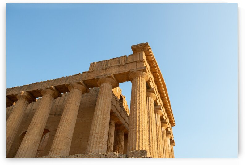 Ancient Greek Temple by Aquamarine