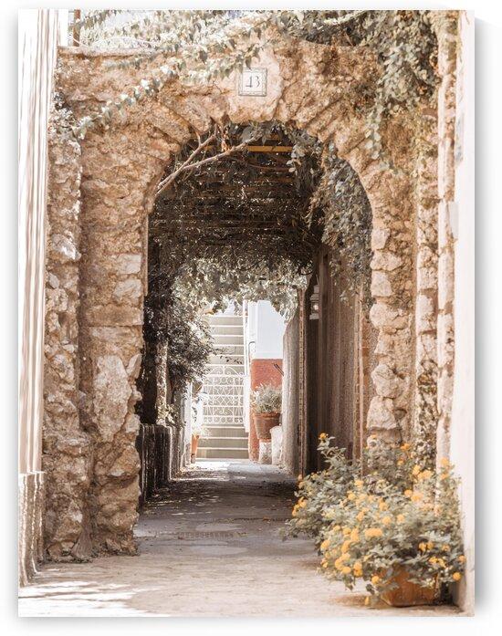 Stone arch doorway, Capri Island, Italy by Assaf Frank