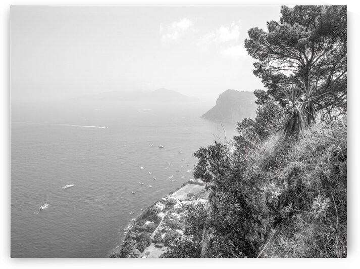 Gulf Of Naples, Capri, Italy by Assaf Frank