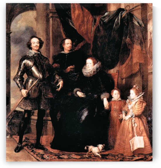 Portrait of the Lomellini family by Van Dyck by Van Dyck