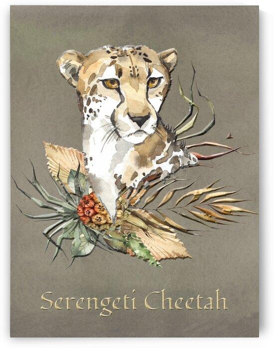 The Safari Series Serengeti Cheetah by HH Photography of Florida