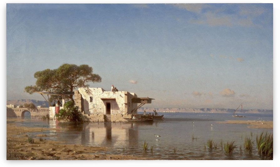 Les Bords du Nil by Amedee Rosier