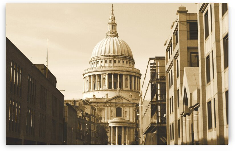 London - St  Pauls Cathedral by Bentivoglio Photography