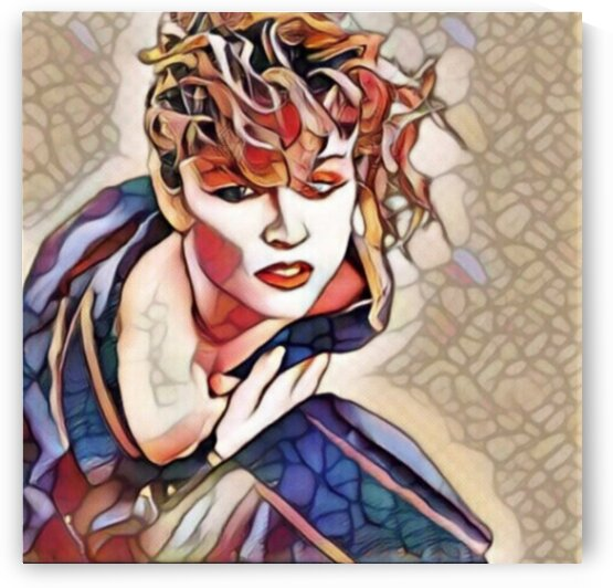 Queen of pop Madonna Inspired art  by Smithson
