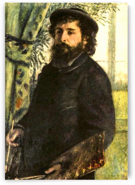 Portrait of the painter Claude Monet by