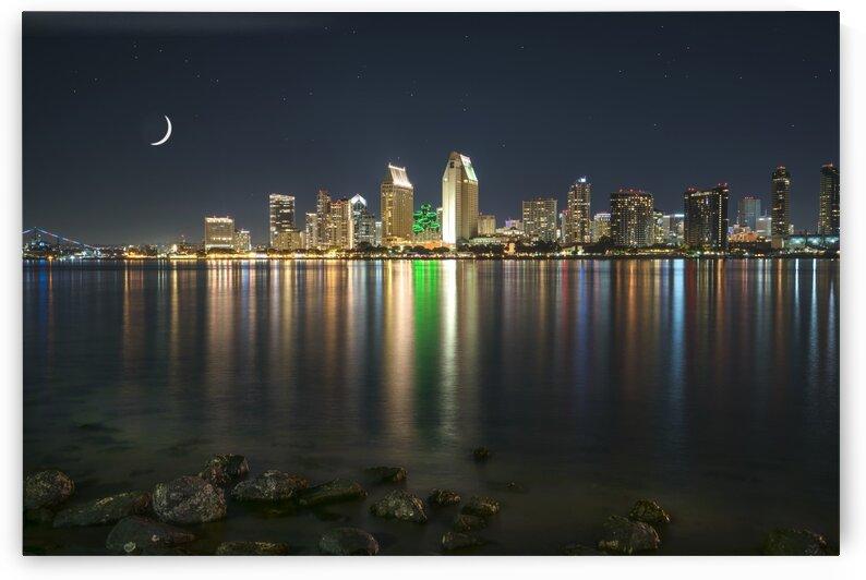 City Lights From Coronado Island by Robert Knaskov