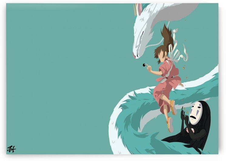 chihiro spirited away by animenew