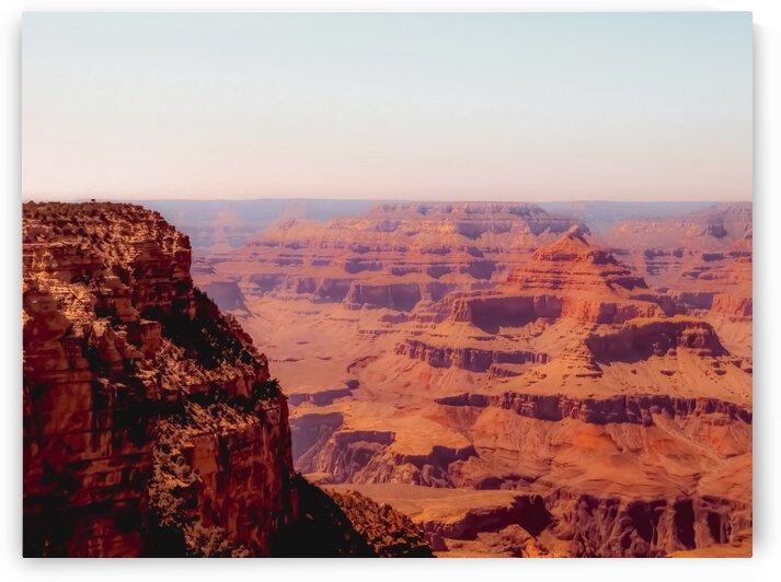Desert in summer at Grand Canyon national park Arizona USA by TimmyLA