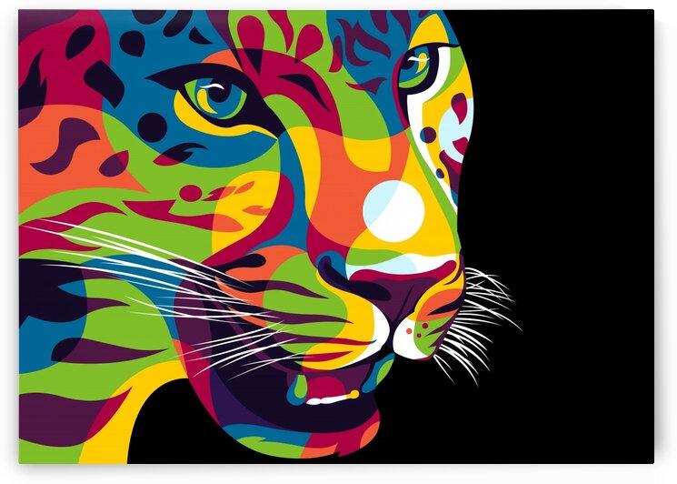 The Jaguar Gaze by wpaprint