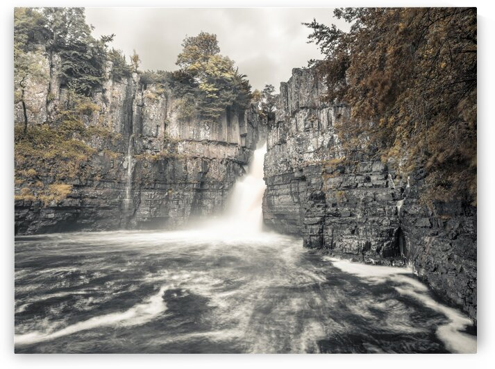 High Force waterfall, North Pennines, Yorkshire, UK by Assaf Frank