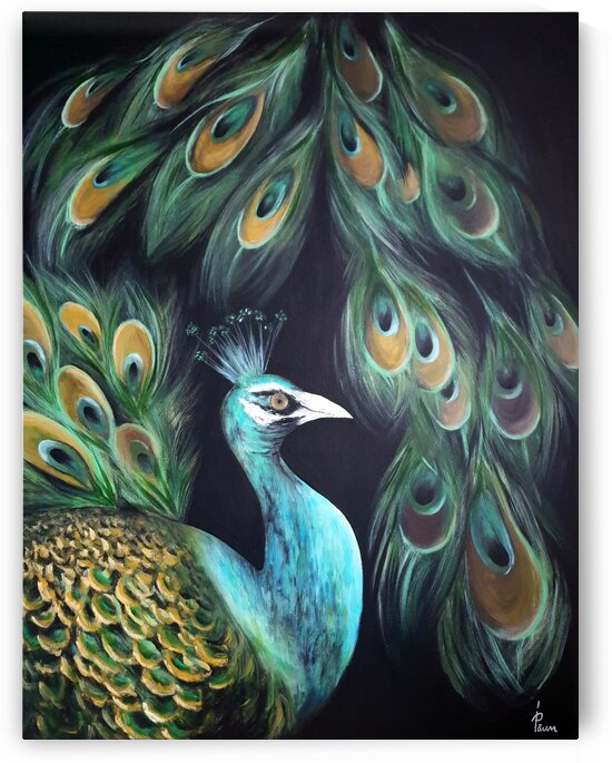 The peacock by Iulia Paun ART Gallery