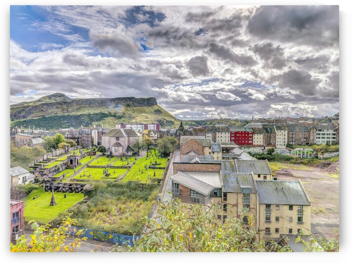 Edinburgh Cityscape, Scotland by Assaf Frank