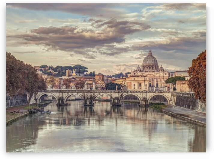 View of Basilica di San Pietro in Vatican, Rome, Italy by Assaf Frank