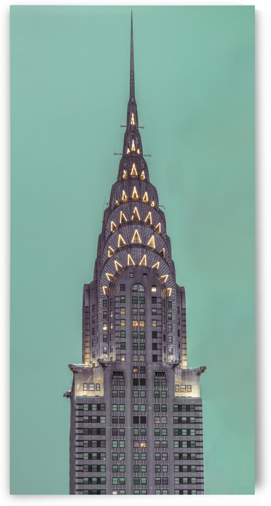 Chrysler Building in New York city by Assaf Frank