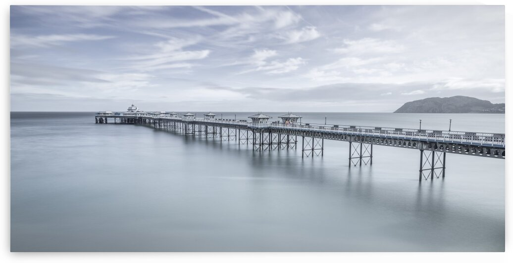 Llandudno Pier, North Wales by Assaf Frank