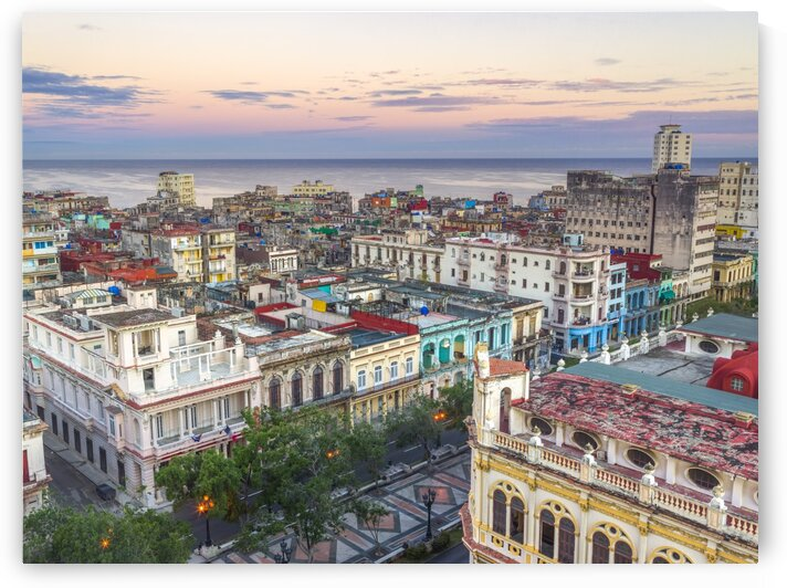 Havana from above by Assaf Frank