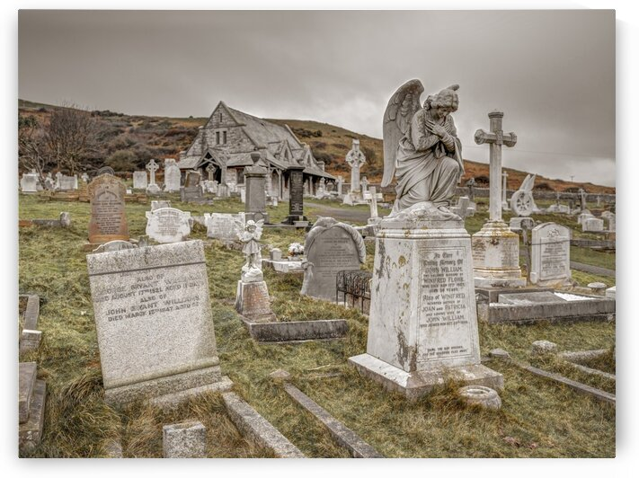 Cemetery in Llandudno, North Wales by Assaf Frank
